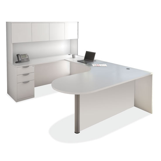 OfficeSource OS Laminate Collection U Shape Typical – OS147