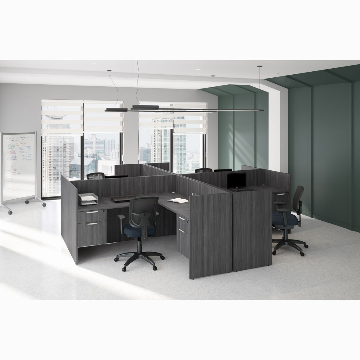OfficeSource OS Laminate Collection Reception Typical – OS148