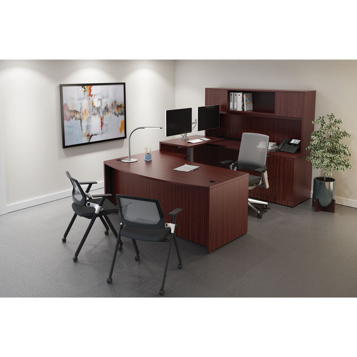 OfficeSource OS Laminate Collection U Shape Typical – OS152