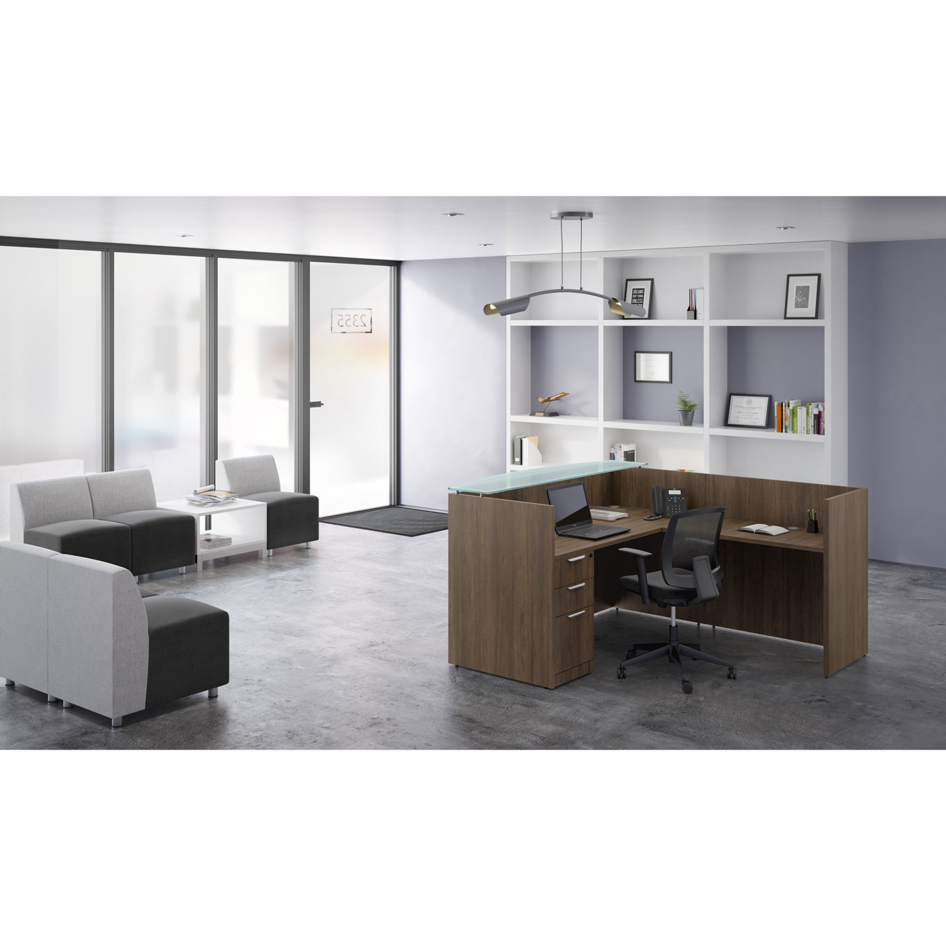 OfficeSource OS Laminate Collection Reception Typical – OS153