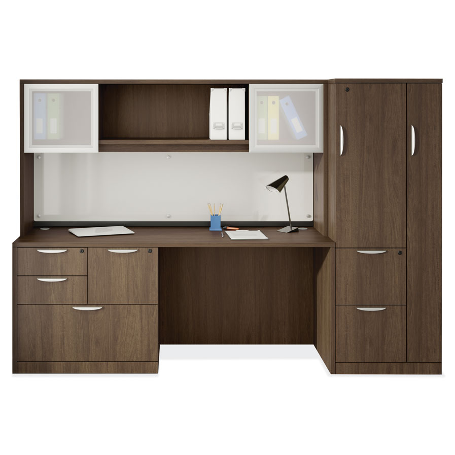 OfficeSource OS Laminate Collection Simple Desk Typical – OS154