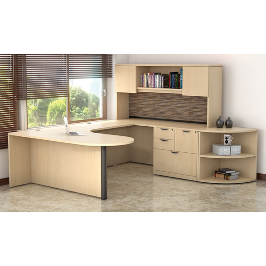 OfficeSource OS Laminate Collection U Shape Typical – OS28