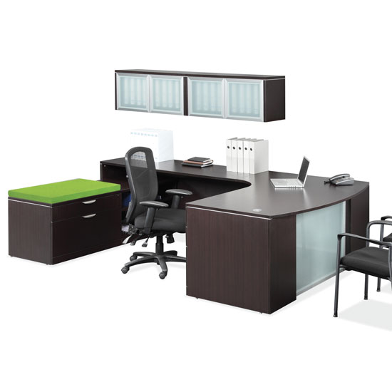 OfficeSource OS Laminate Collection U Shape Typical – OS43