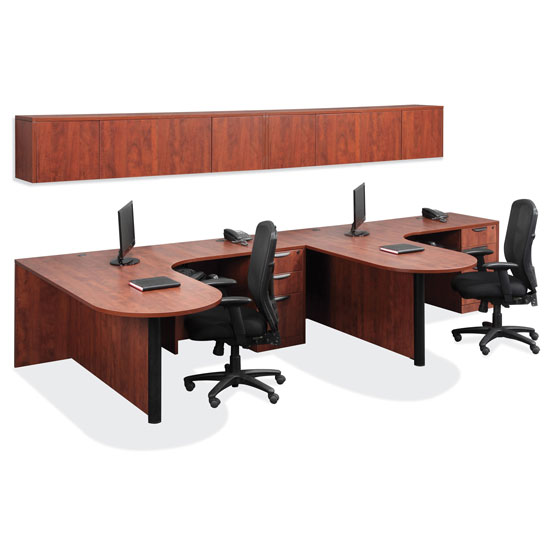 OfficeSource OS Laminate Collection L Shape Typical – OS44