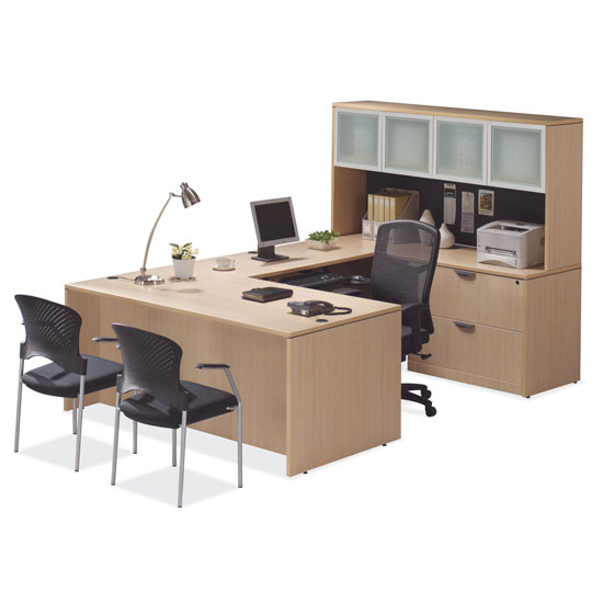 OfficeSource OS Laminate Collection U Shape Typical – OS56