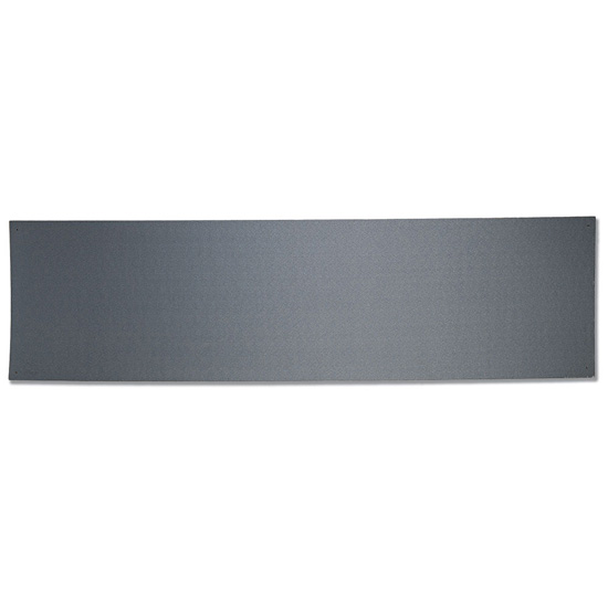 OfficeSource OS Laminate Collection Tack Board – Gray Fabric