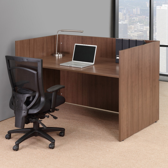 OfficeSource OS Laminate Collection Reception Unit