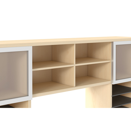 Center Hutch Divider For Center Area of PL144OH or PL1044OH as an option