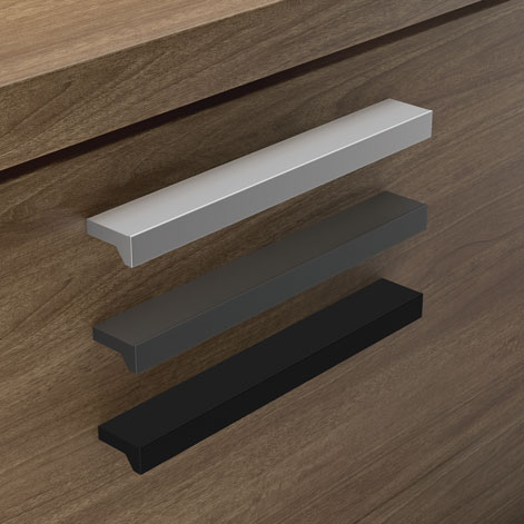 OfficeSource OS Laminate Collection Optional Modern Pull