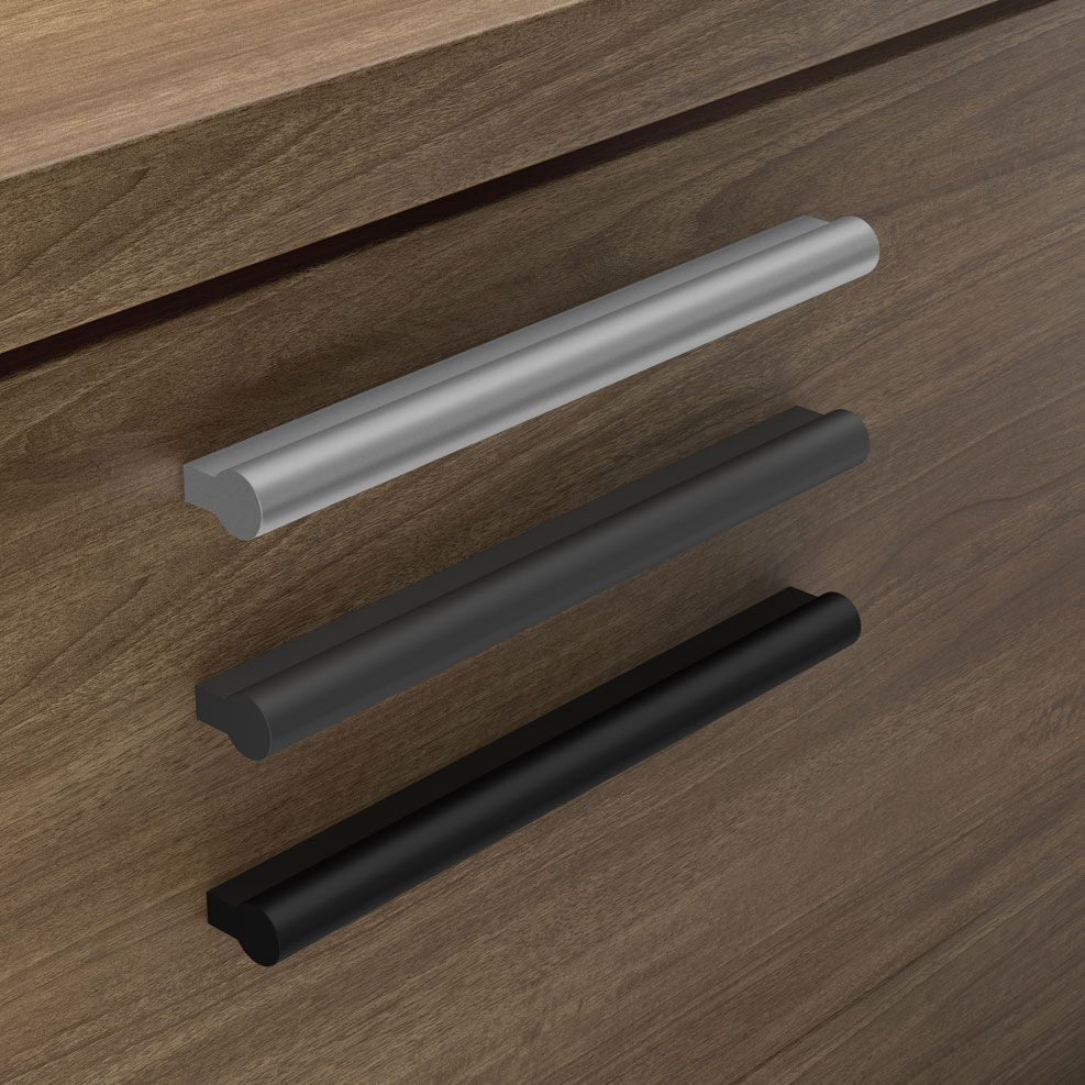 OfficeSource OS Laminate Collection Optional Modern Metro Pull