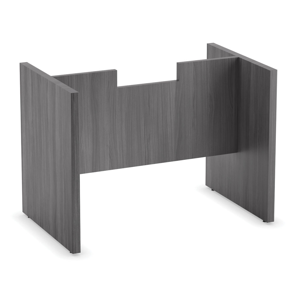 OfficeSource OS Conference Tables Slab Base with Modesty Panel