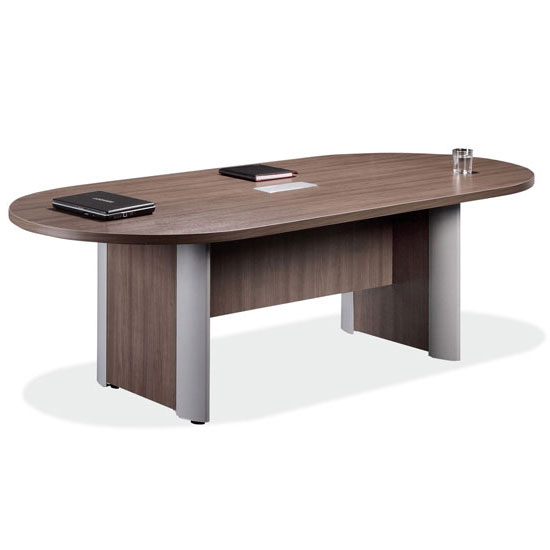 Racetrack Conference Table with Elliptical Base