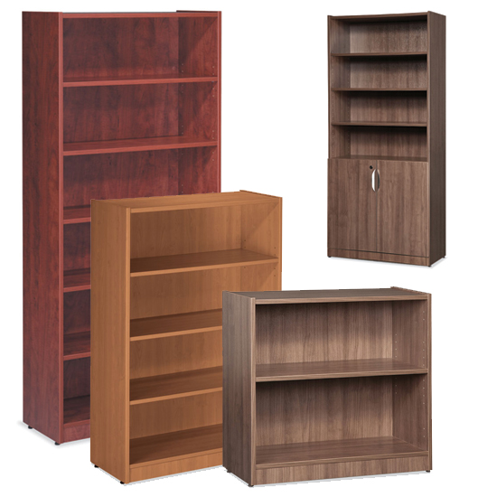OS Laminate Bookcases