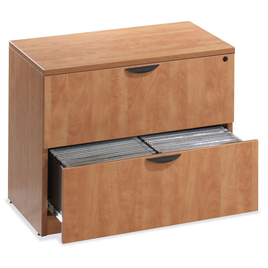 OfficeSource OS Laminate Lateral Files 2 Drawer Lateral File