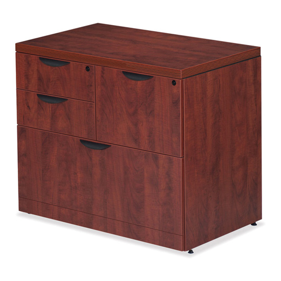 OfficeSource OS Laminate Lateral Files Combo Lateral File Cabinet