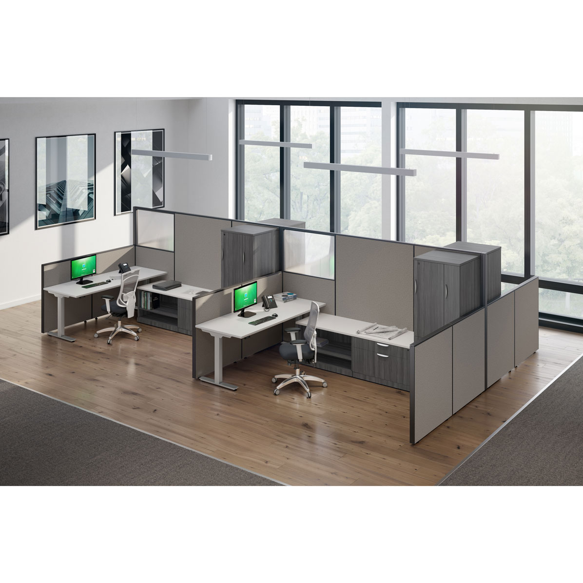OfficeSource OS Panels Panel System 6 – Panels Only