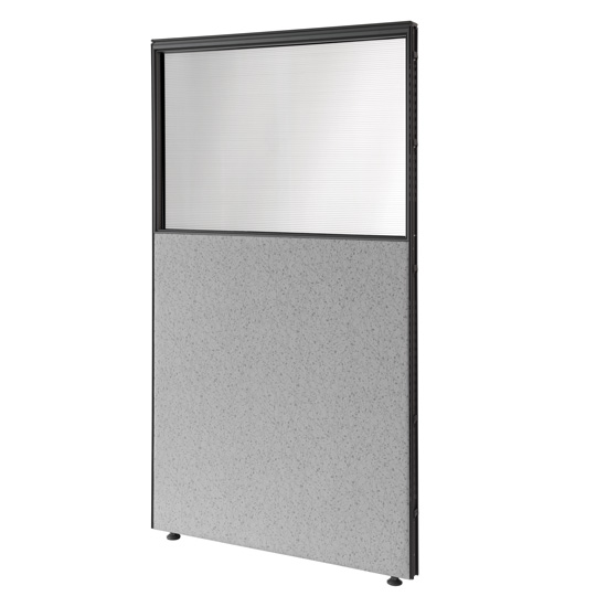 "36"" W Opaque View-Through Panels"