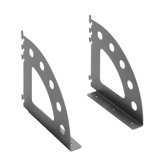 OfficeSource OS Panels Pair of Shelf Brackets