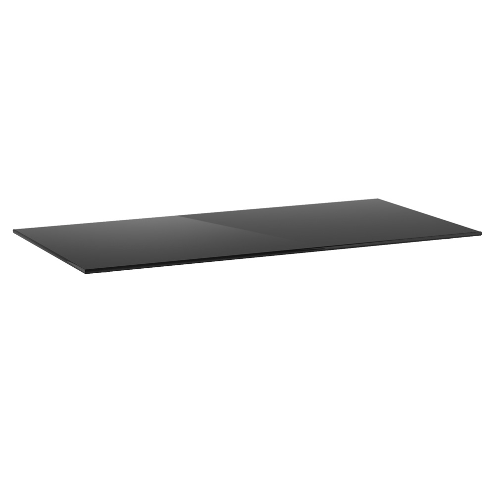 OfficeSource OS Reception Tables Rectangular Glass Top