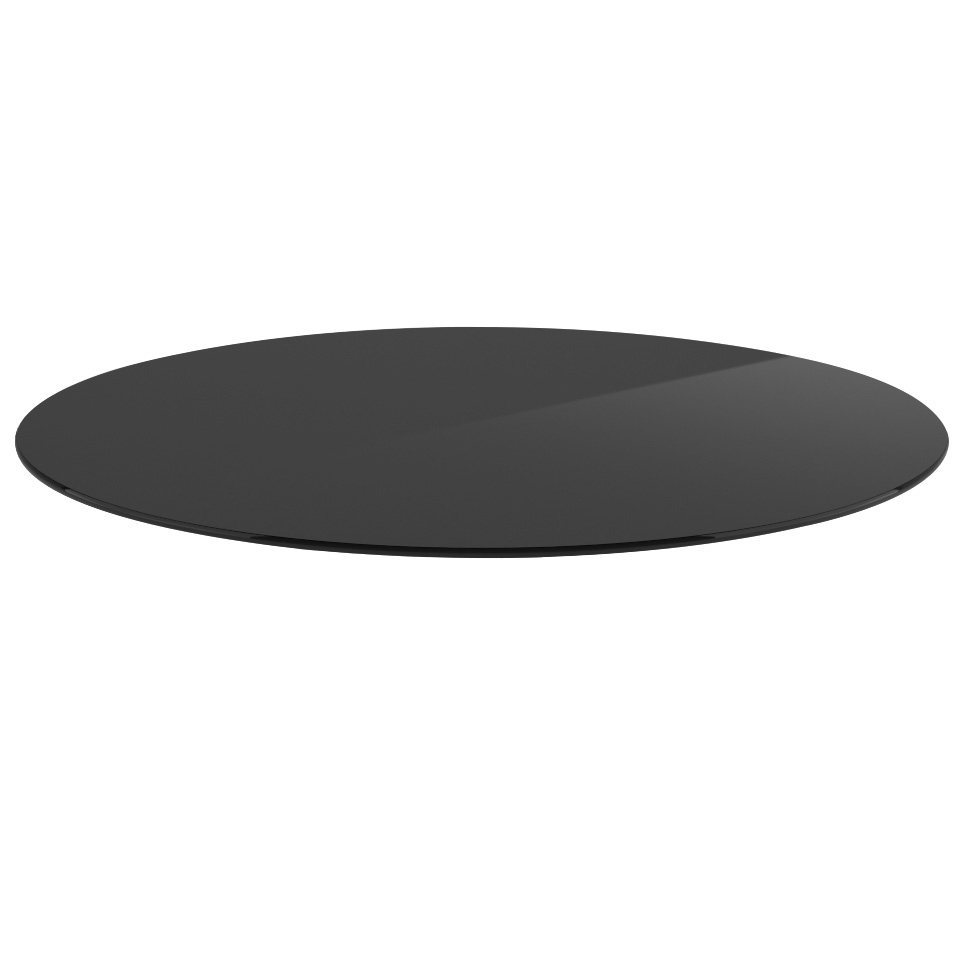 30″ Round Glass Top