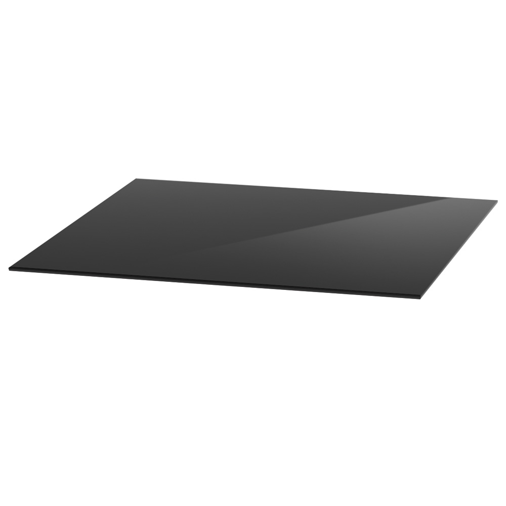 """OfficeSource OS Reception Tables 30"""" Square Glass Top"""