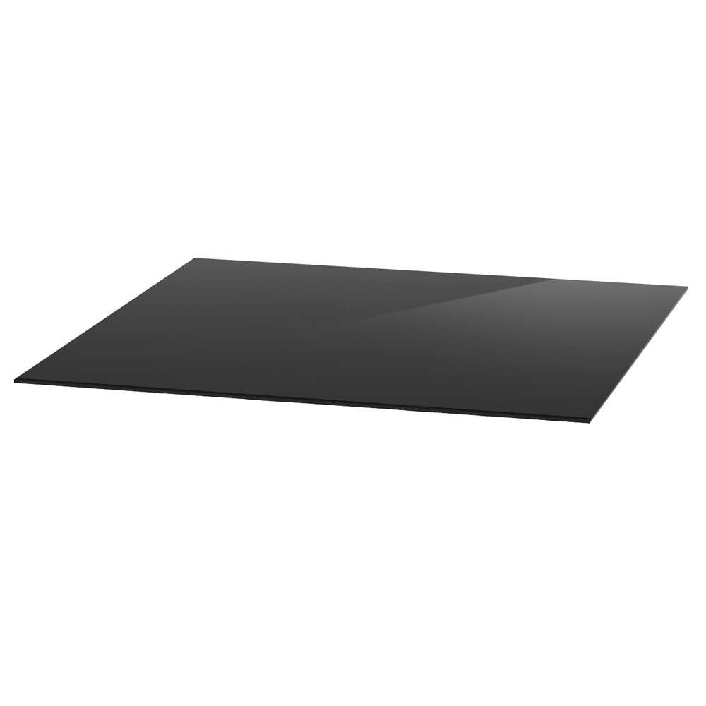 "OfficeSource OS Reception Tables 36"" Square Glass Top – Requires Base"