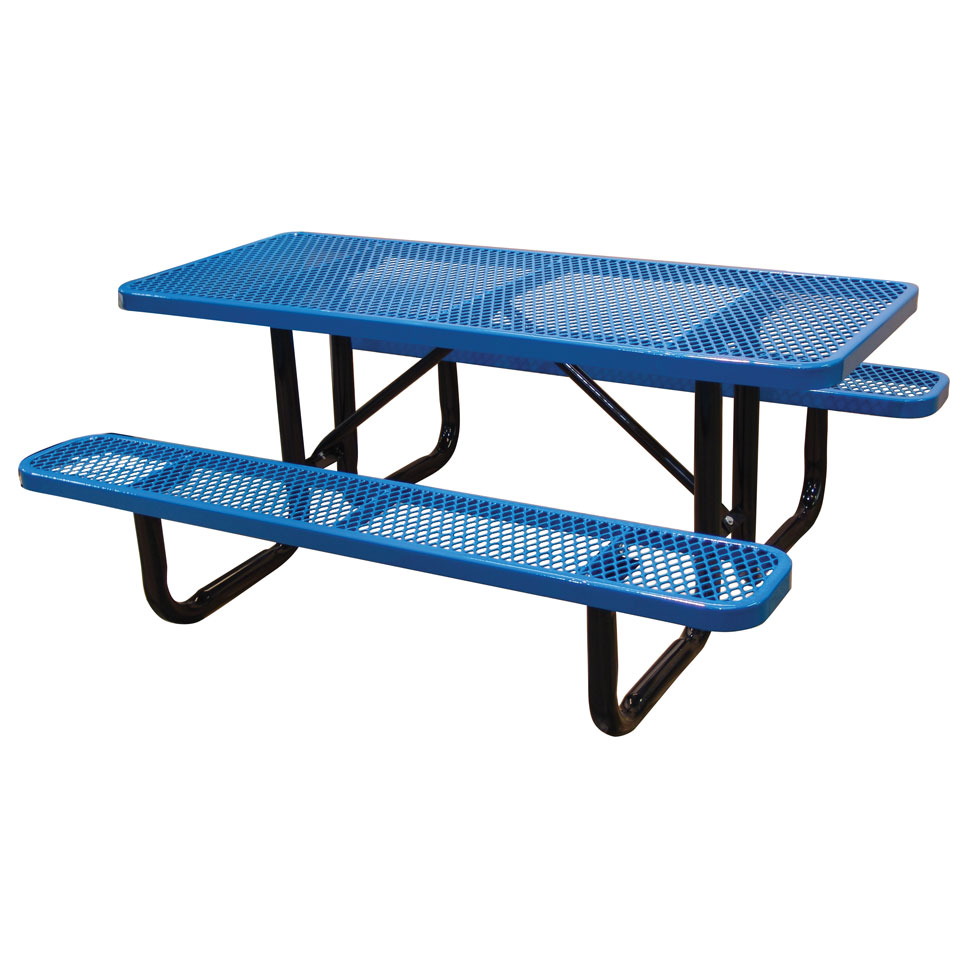"72"" Standard Expanded Picnic Table"