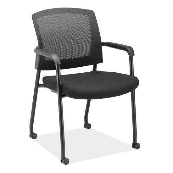micro mesh back side chair with arms officesource furniture