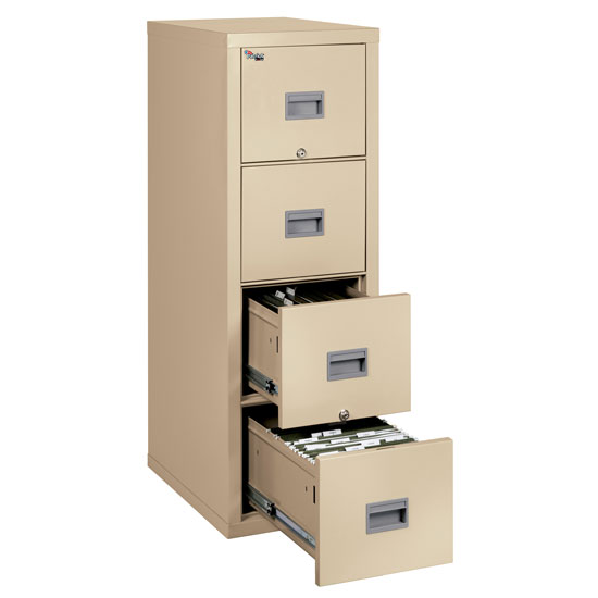 4 Drawer Letter and Legal File