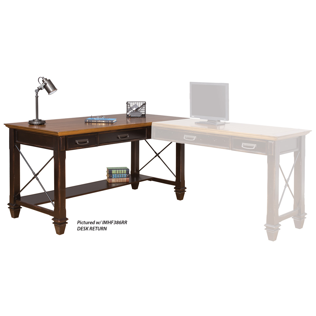 Right Hand Facing Open L-Shaped Desk
