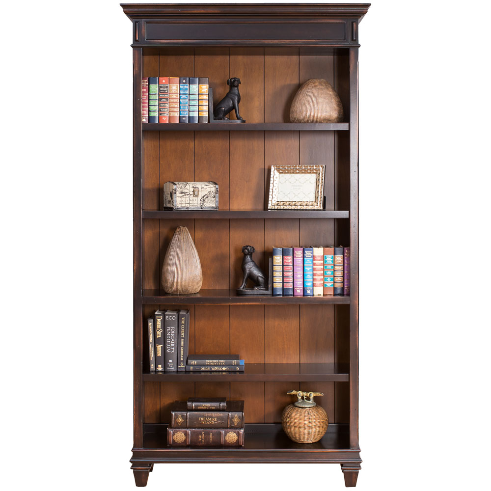 OfficeSource Refined Collection Open Bookcase