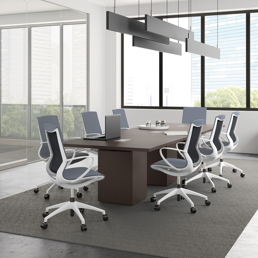All Mesh Task Chair with Black or White Frame