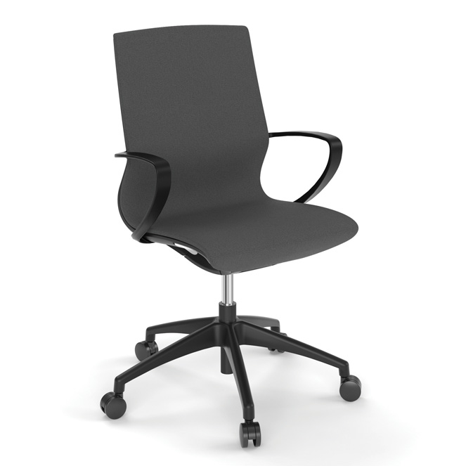OfficeSource Remark Collection All Mesh Task Chair with Black or White Frame