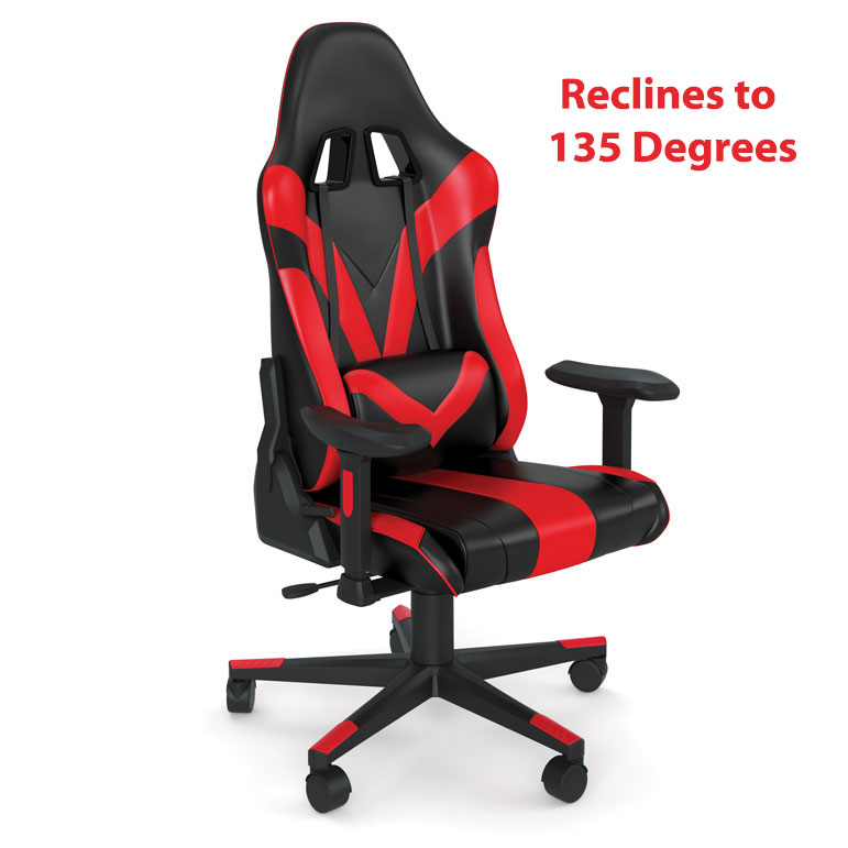 High Back Gaming Chair with Black Frame