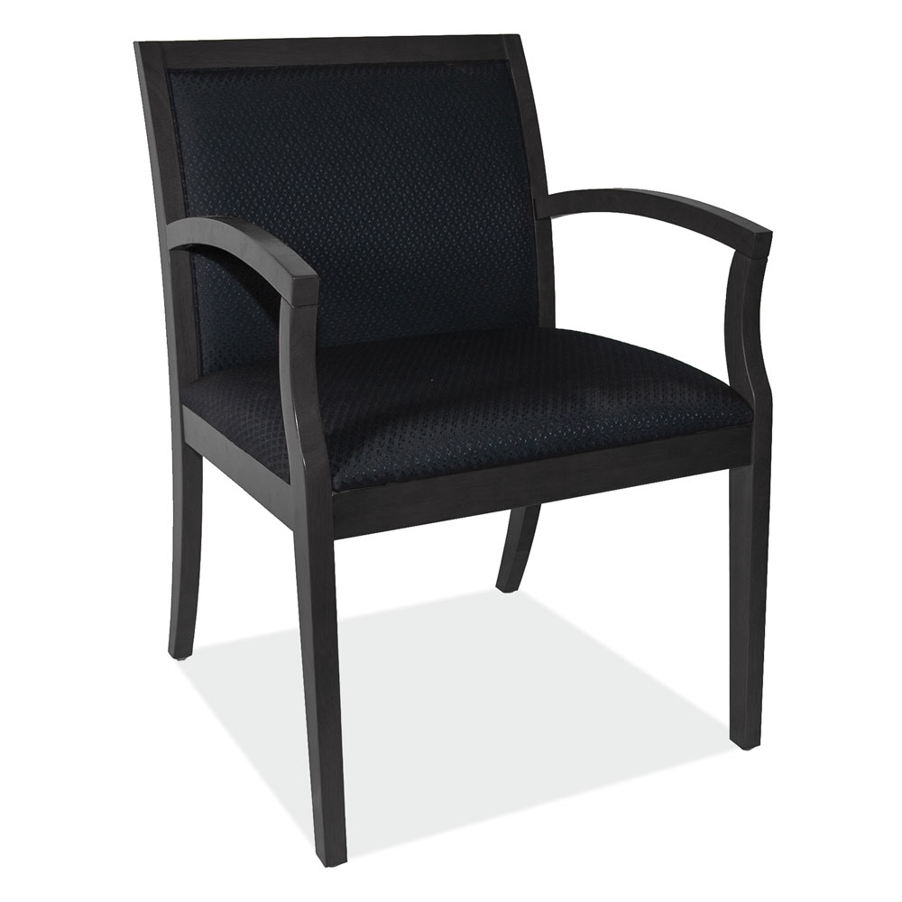 OfficeSource Rex Collection Full Back Guest Chair