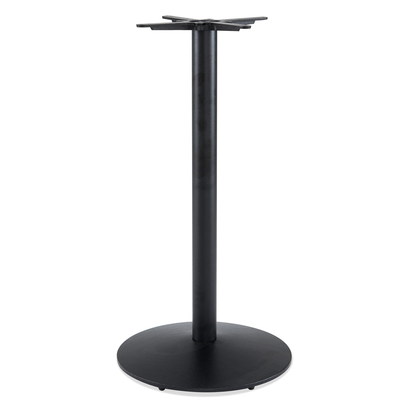 Outdoor Cafe Height Round Table Base