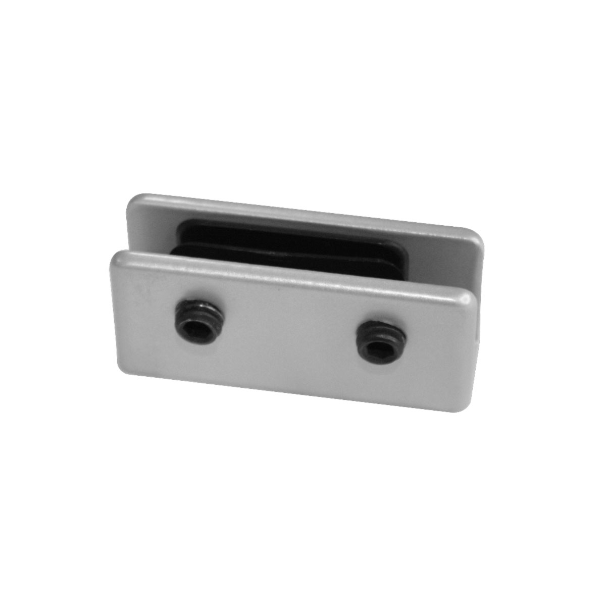 OfficeSource SafeGuard Barrier Collection Straight Bracket (For 6MM Acrylic Screens)