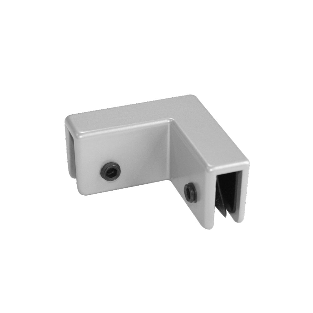 OfficeSource SafeGuard Barrier Collection Corner Bracket (For 6MM Acrylic Screens)