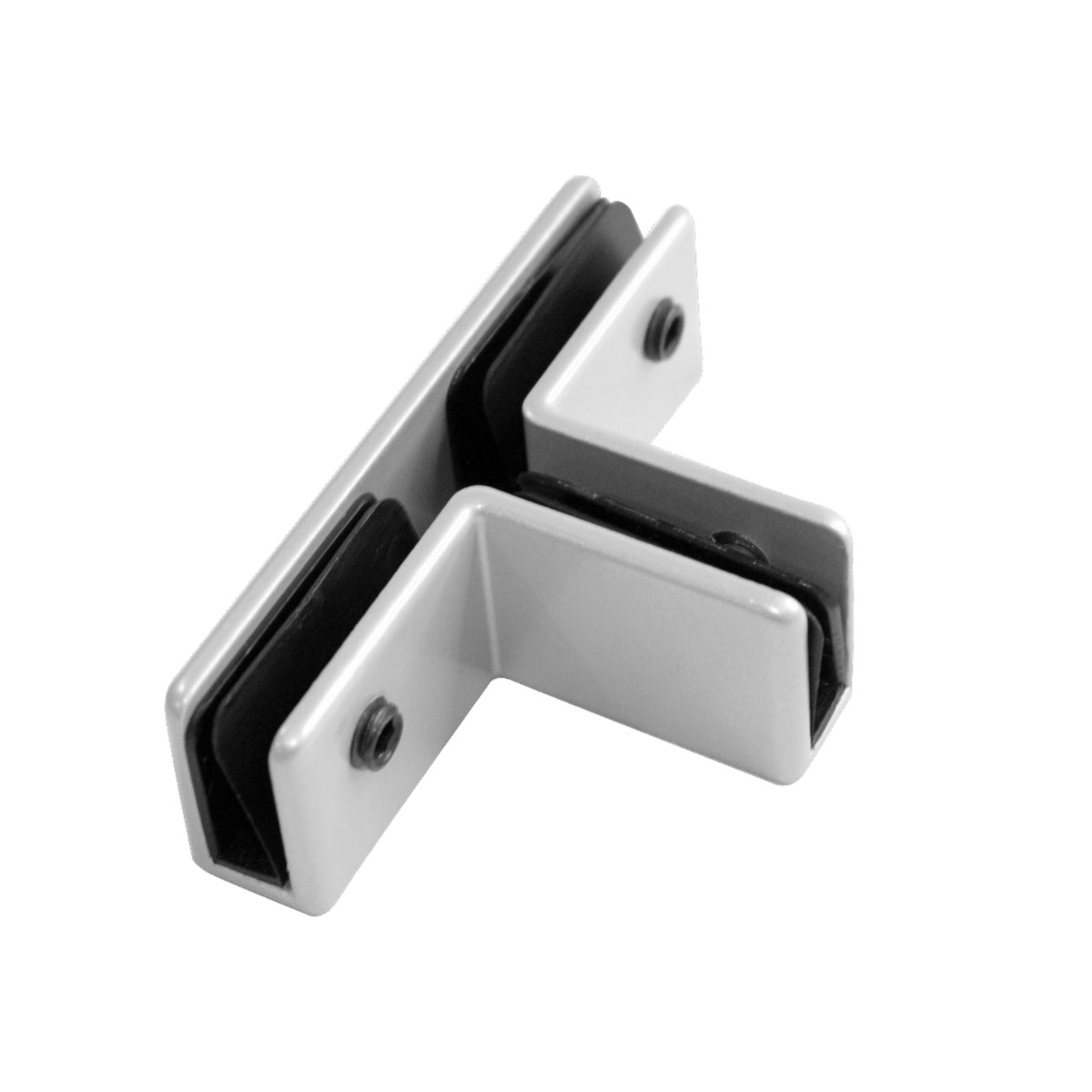 OfficeSource SafeGuard Barrier Collection T-Shaped Bracket (For 6MM Acrylic Screens)