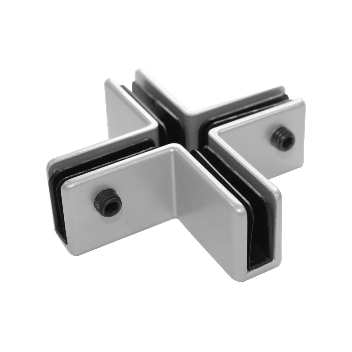 OfficeSource SafeGuard Barrier Collection X-Shaped Bracket (For 6MM Acrylic Screens)