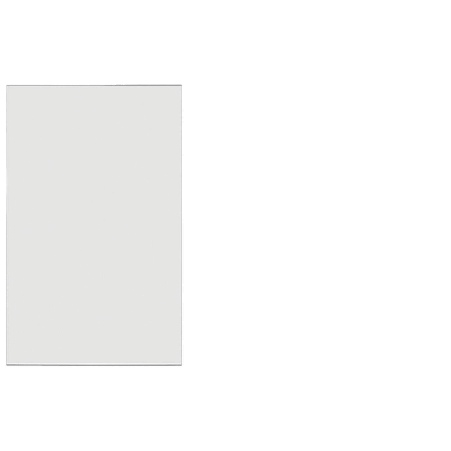 Frosted Acrylic Screen with Square Edges – 30″W x 24″H