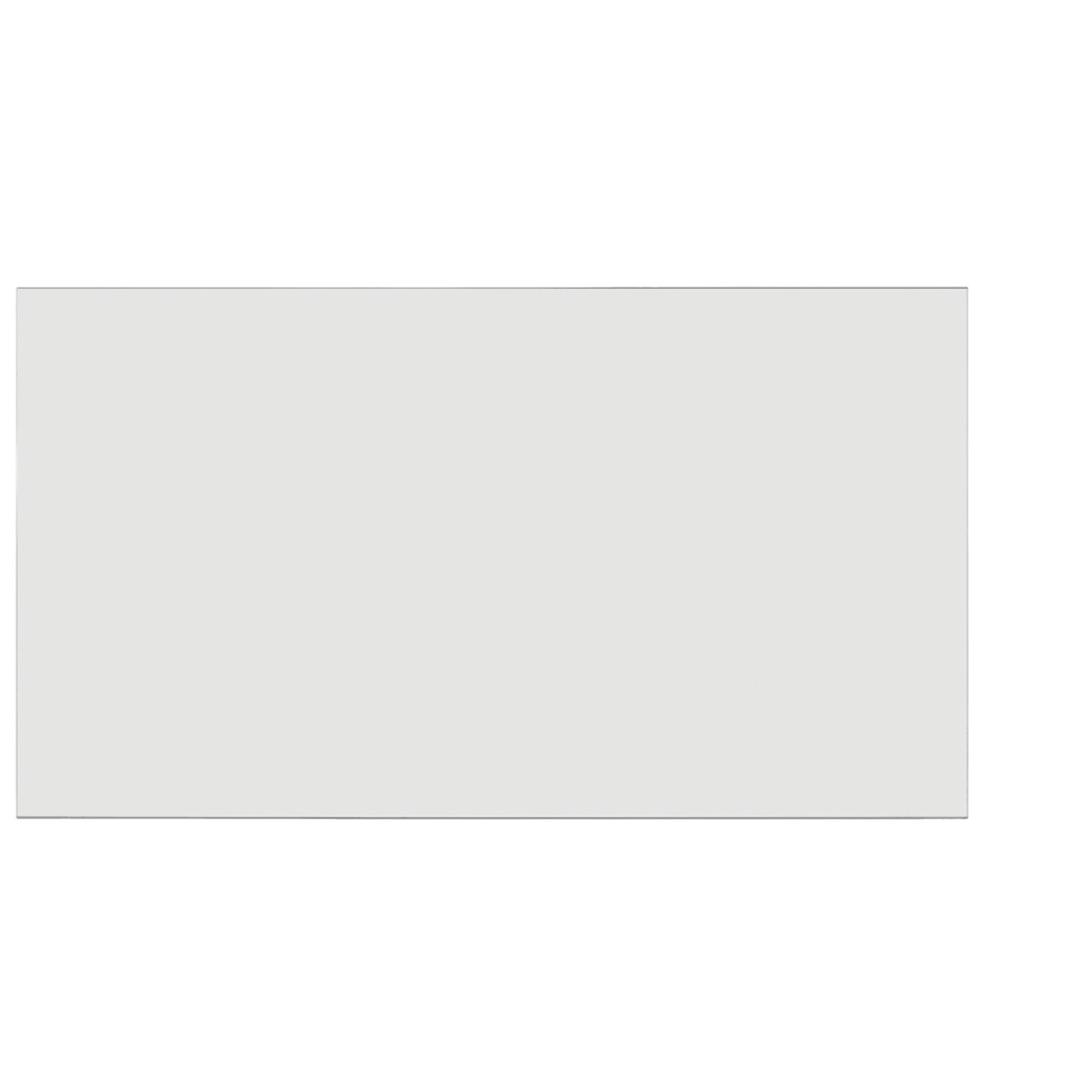 Frosted Acrylic Screen with Square Edges – 66″W x 24″H
