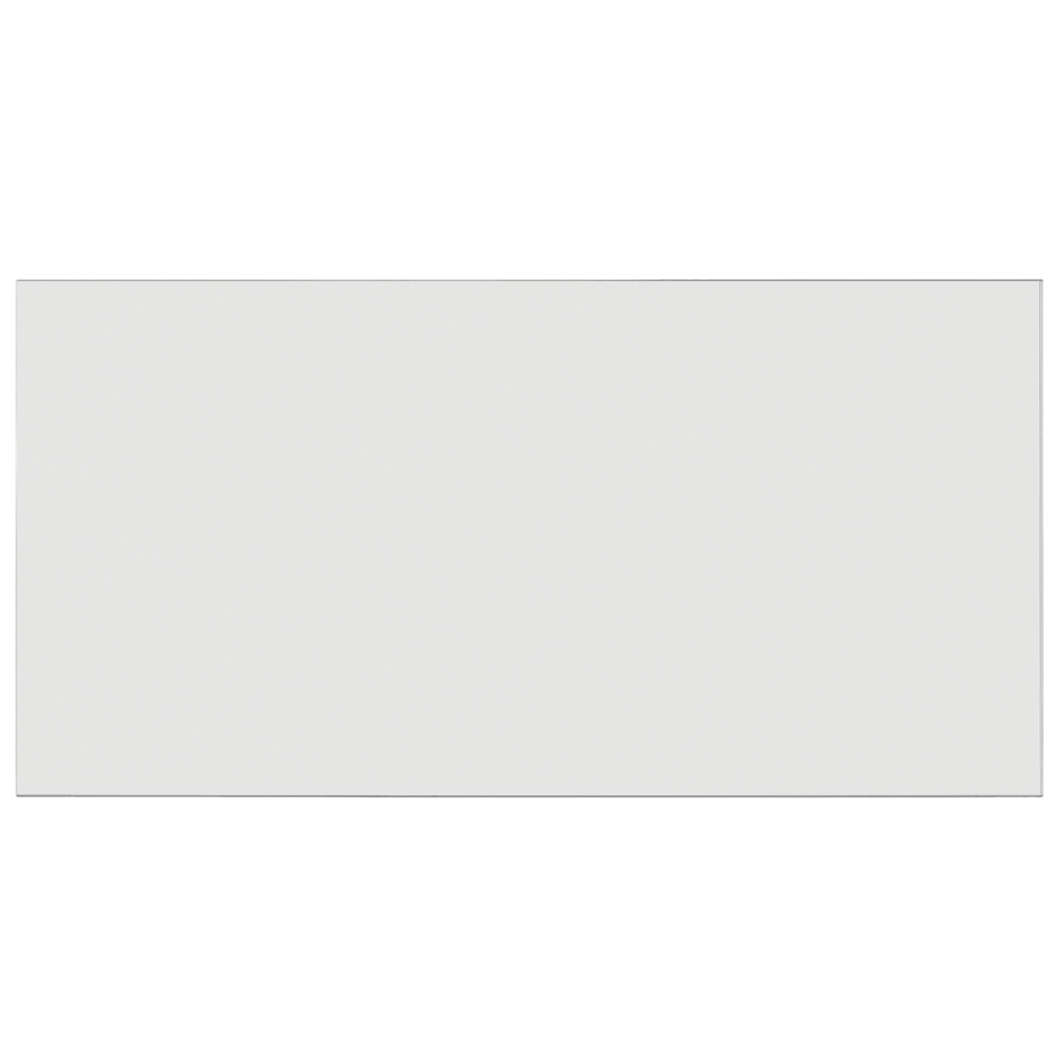 Frosted Acrylic Screen with Square Edges – 72″W x 24″H