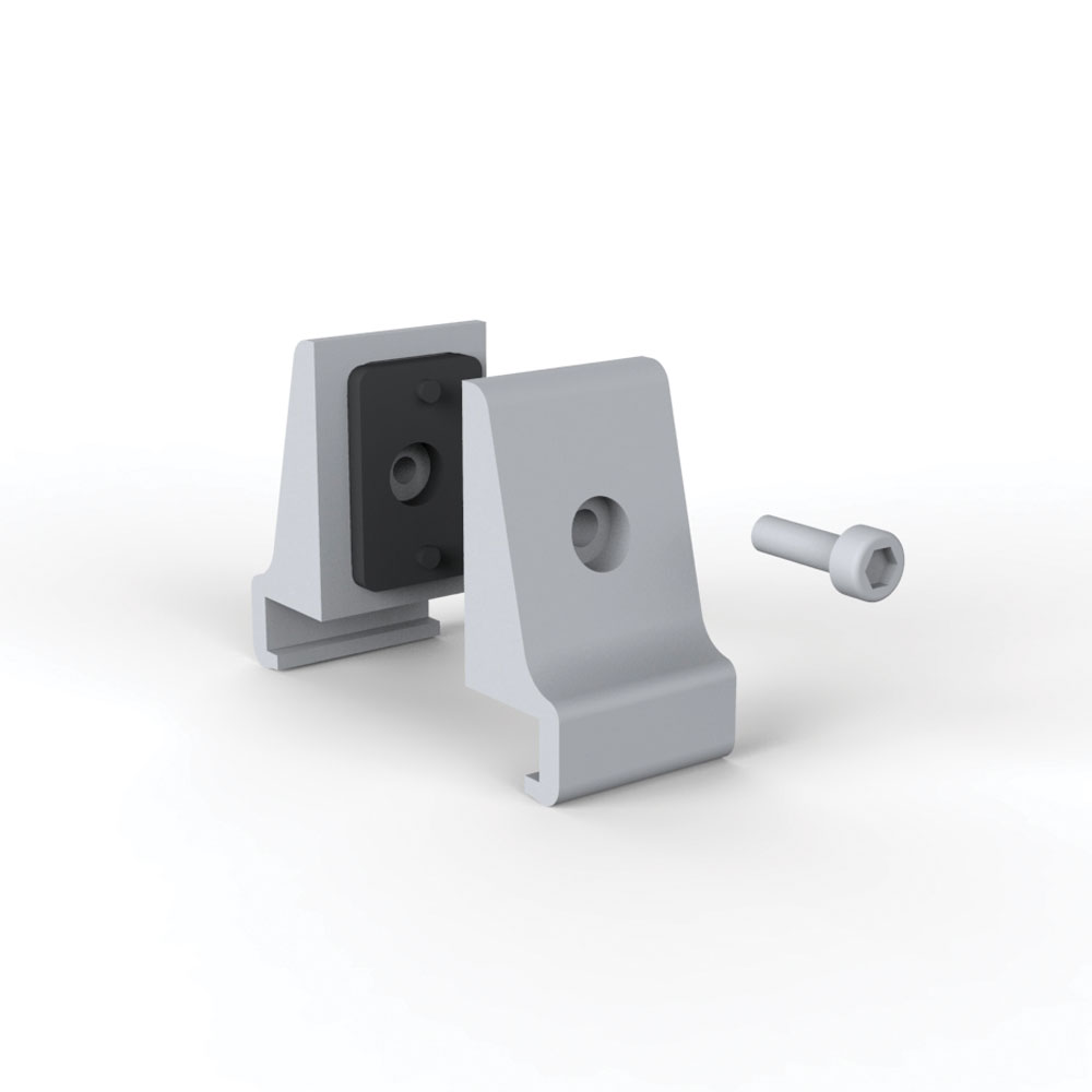 Panel Mount Bracket – For Panels Up To 2″Thick