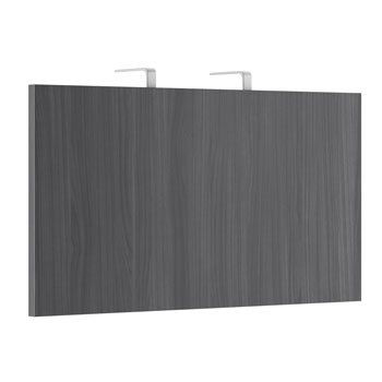 Modesty Panel with 2 Piece Hanging Brackets