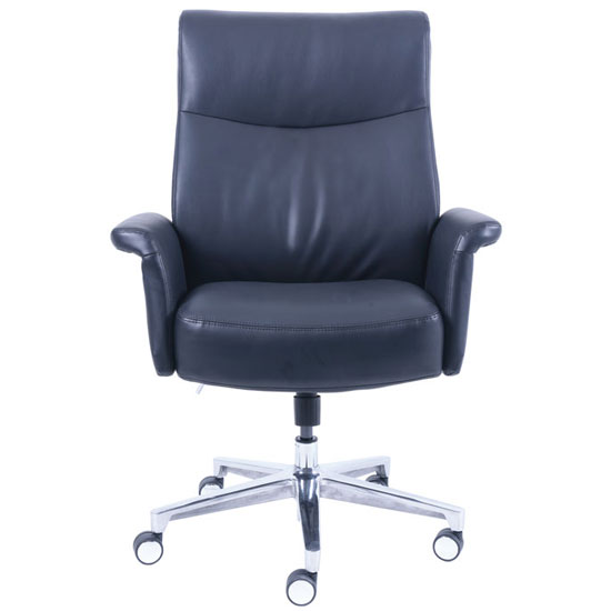 La Z Boy Executive Chair with Aluminum Base