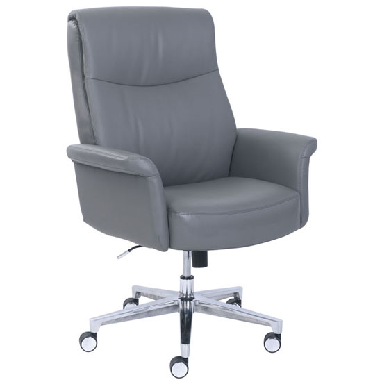 La Z Boy Executive Chair with Aluminum Base