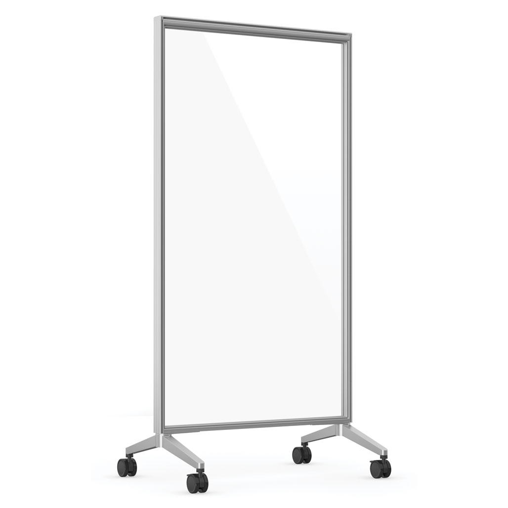 OfficeSource Spry Mobile Acrylic Board Collection 36″ X 72″ Panel – Full Clear Acrylic