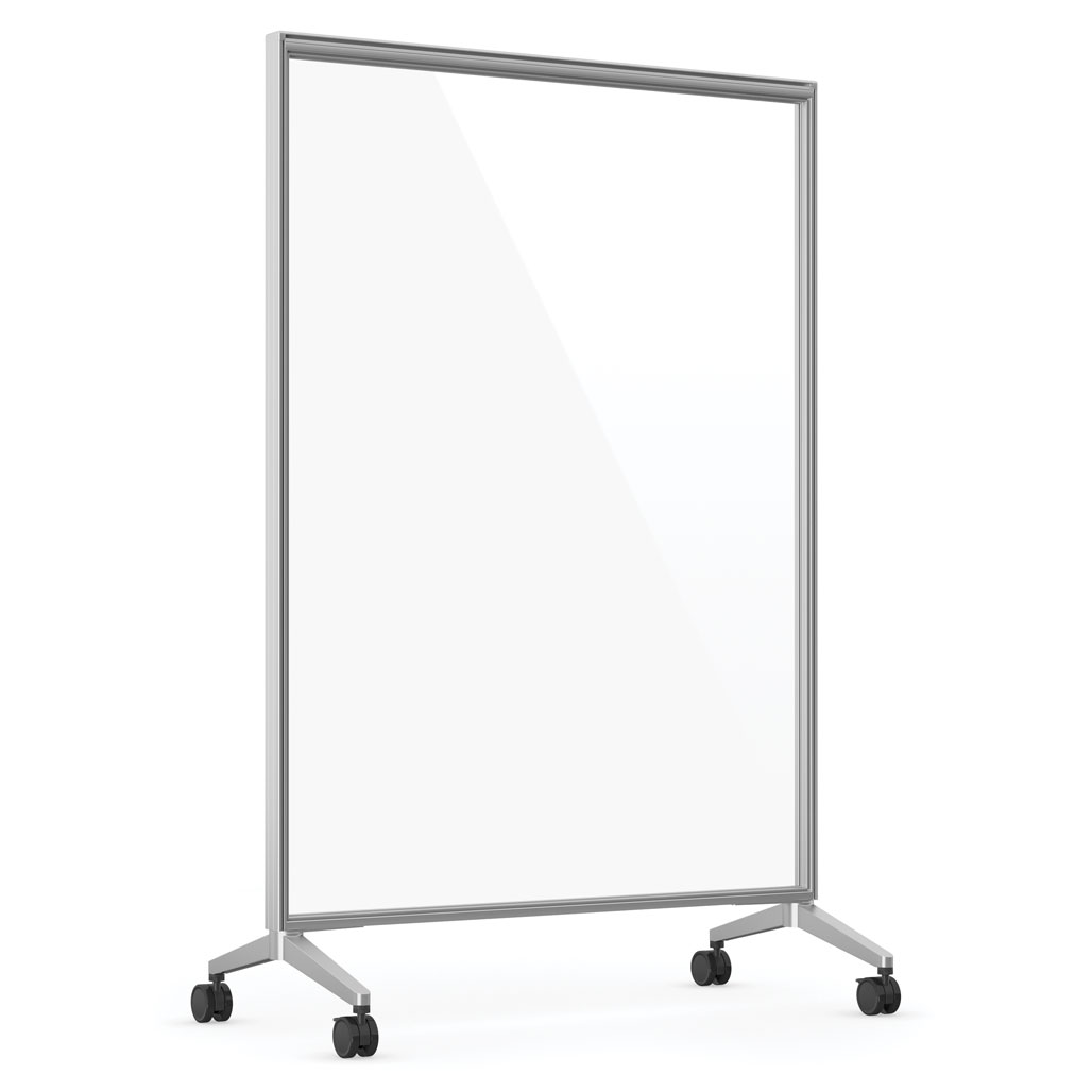 OfficeSource Spry Mobile Acrylic Board Collection 48″ X 72″ Panel – Full Clear Acrylic