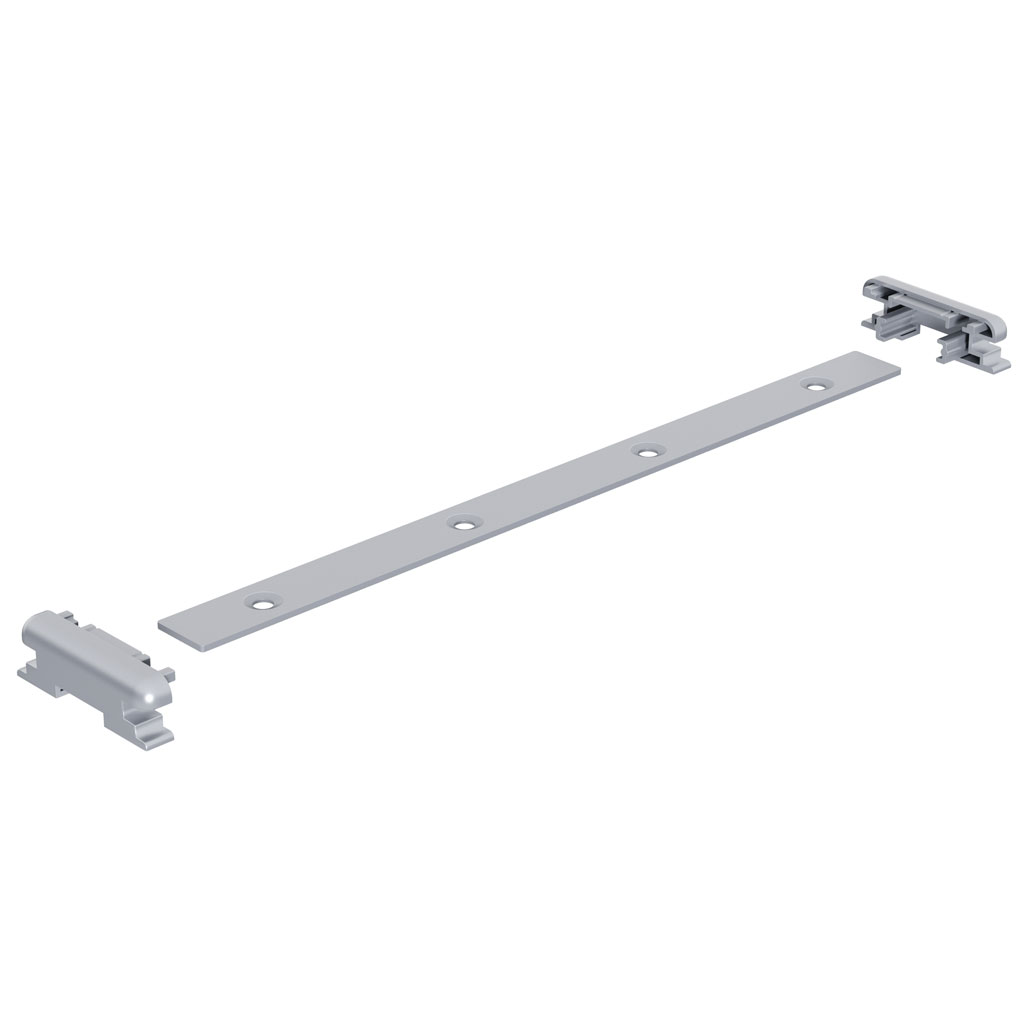 OfficeSource Spry Mobile Acrylic Board Collection Straight Connector (Used to connect to panels)
